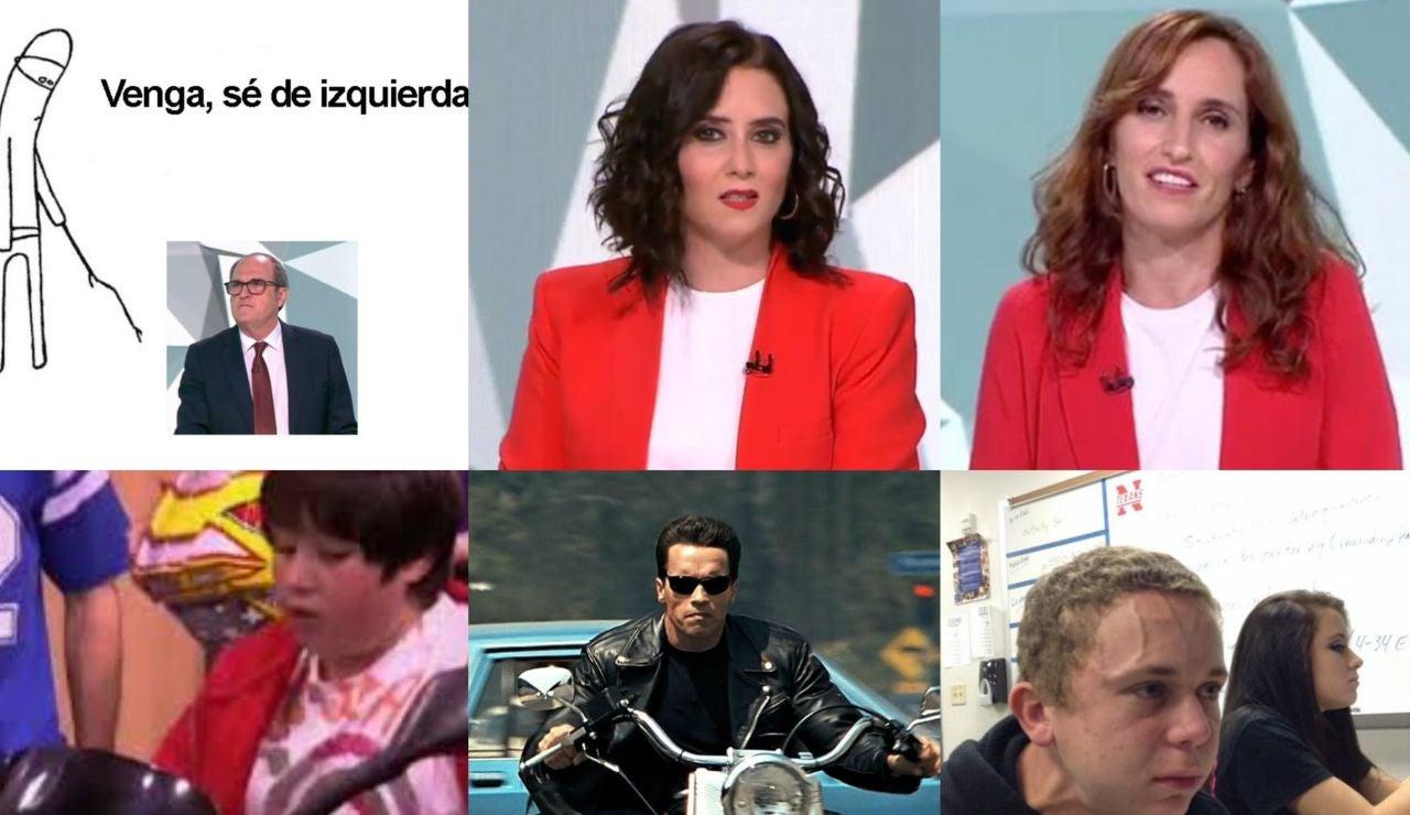 Los mejores memes del debate entre los candidatos a la presidencia de Madrid