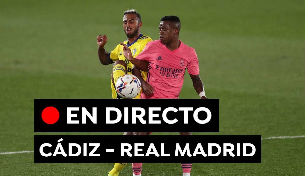 Cádiz - Real Madrid: Partido de fútbol de Liga Santander hoy, en directo
