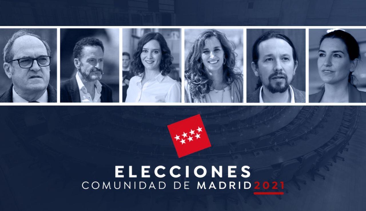 El debate de los candidatos a las elecciones en Madrid, streaming en directo