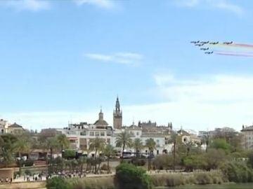 Patrulla Águila en Sevilla