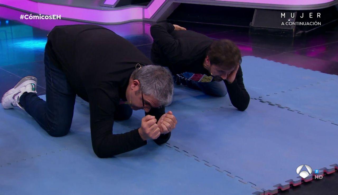 ¿Superarán Santiago Segura, José Mota, Flo y Marron el reto de la gravedad de las Twin Melody?