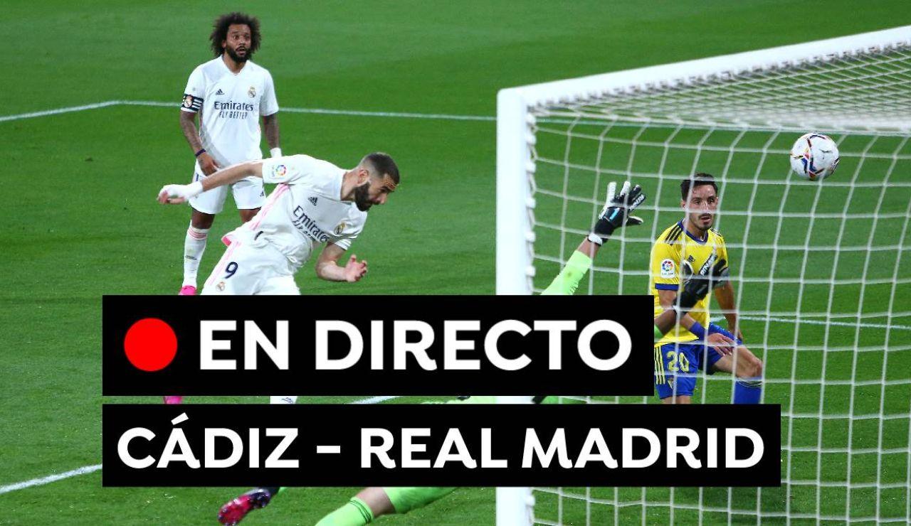 Cádiz - Real Madrid: Resultado y goles del partido de hoy de Liga Santander, en directo