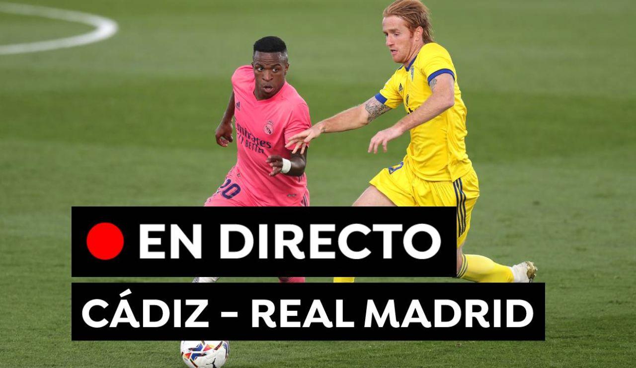Cádiz - Real Madrid: Partido de hoy y resultado de Liga Santander, en directo
