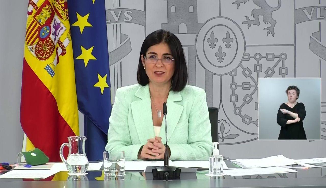 """Carolina Darias celebra el aumento del ritmo de vacunación: """"Por primera vez estamos"""