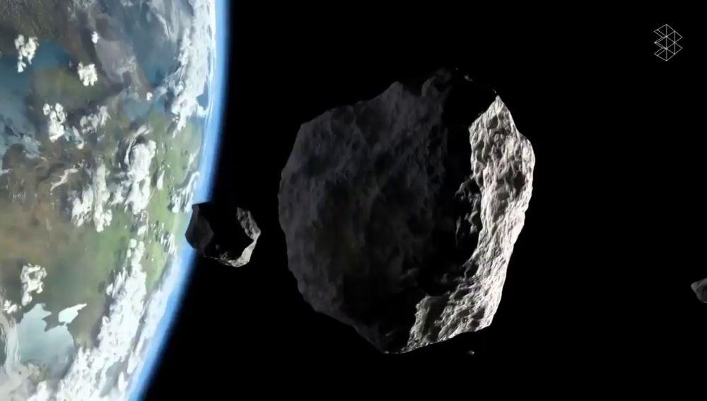 """Un asteroide """"potencialmente peligroso"""" del tamaño de la Torre Eiffel se acerca a la Tierra esta noche"""