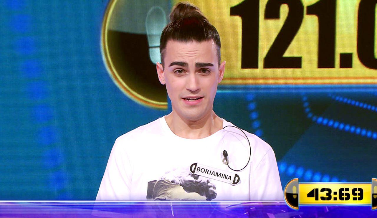 Borja lucha por 121.001 euros en el Duelo Final de '¡Ahora caigo!'