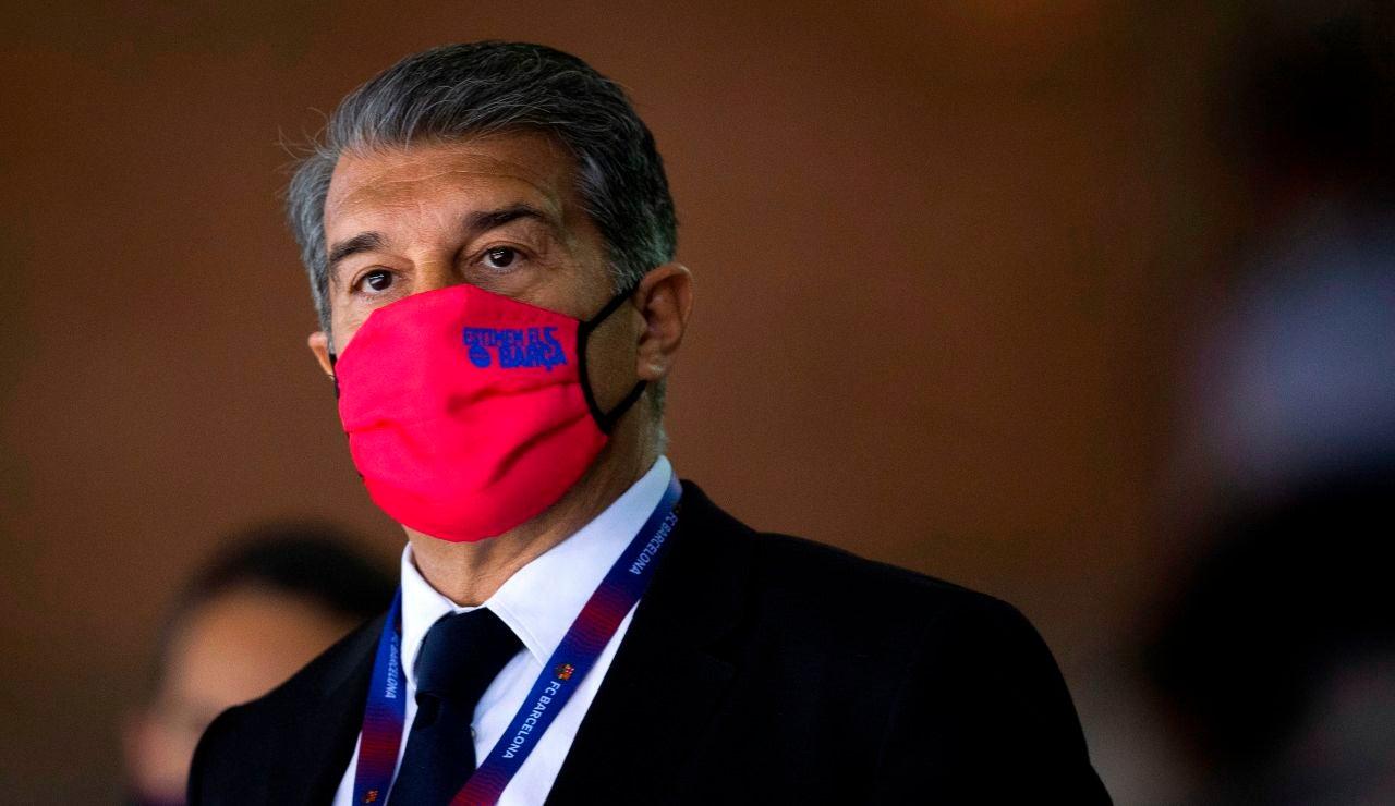 """Joan Laporta habla claro: """"La Superliga es absolutamente necesaria"""""""