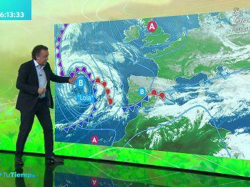 La previsión del tiempo hoy: Jornada de lluvias fuertes en Comunidad Valenciana, Murcia y noreste de Andalucía