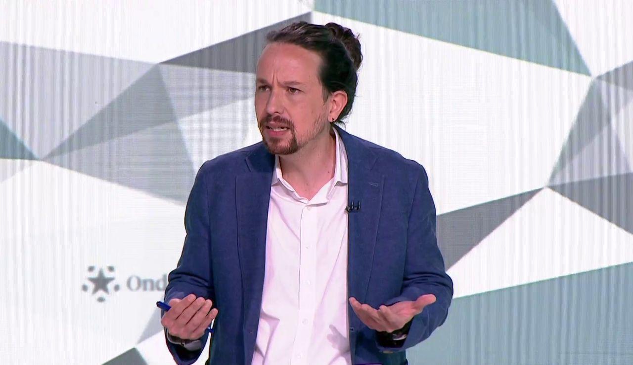 Pablo Iglesias nombra a Cristina Pedroche en el debate de las elecciones de Madrid para justificar una subida de impuestos