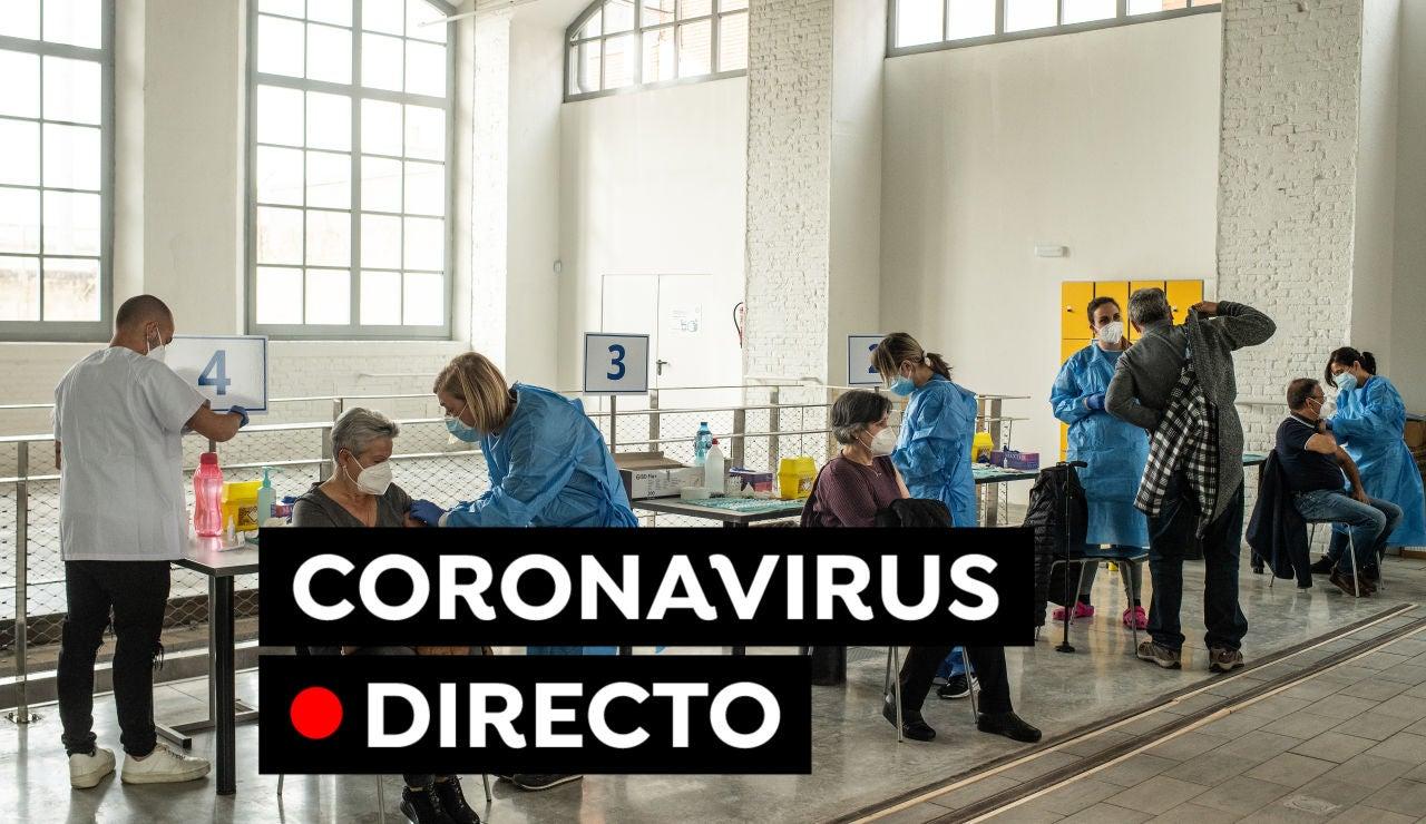 Coronavirus en España hoy: Restricciones, vacuna contra el COVID-19 y últimas noticias, en directo