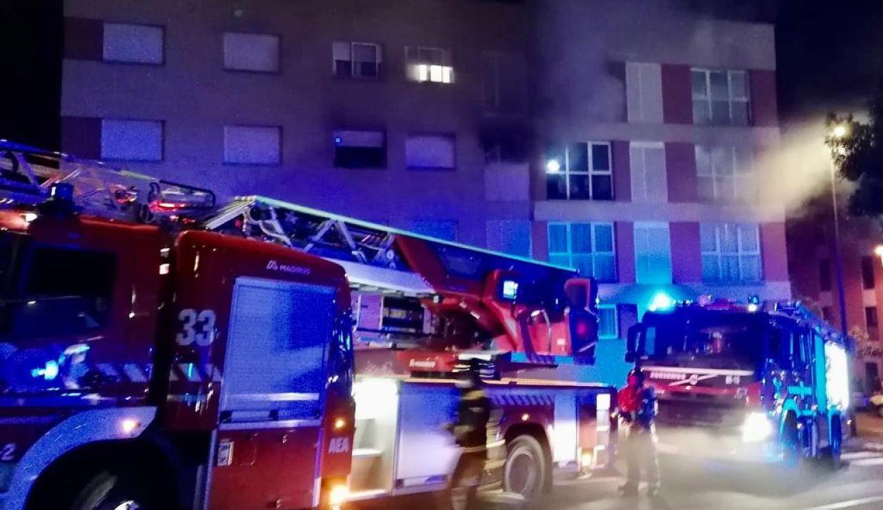Muere una mujer en un incendio en Tenerife