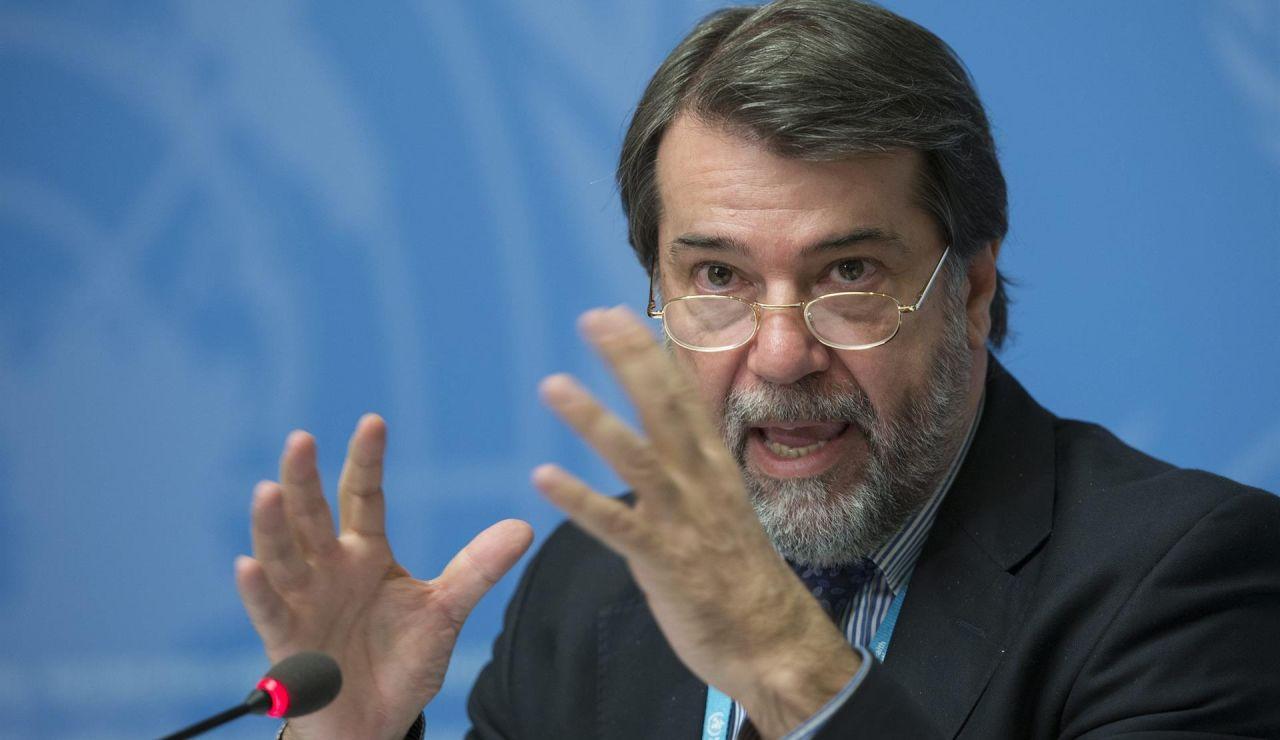 El director del Programa contra la Malaria en la Organización Mundial de la Salud (OMS), Pedro Alonso