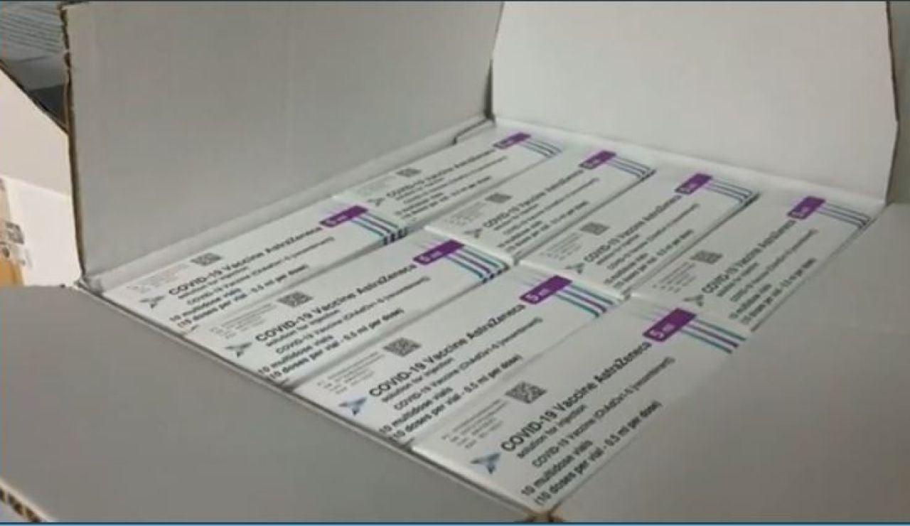 Dosis de la vacuna de AstraZeneca