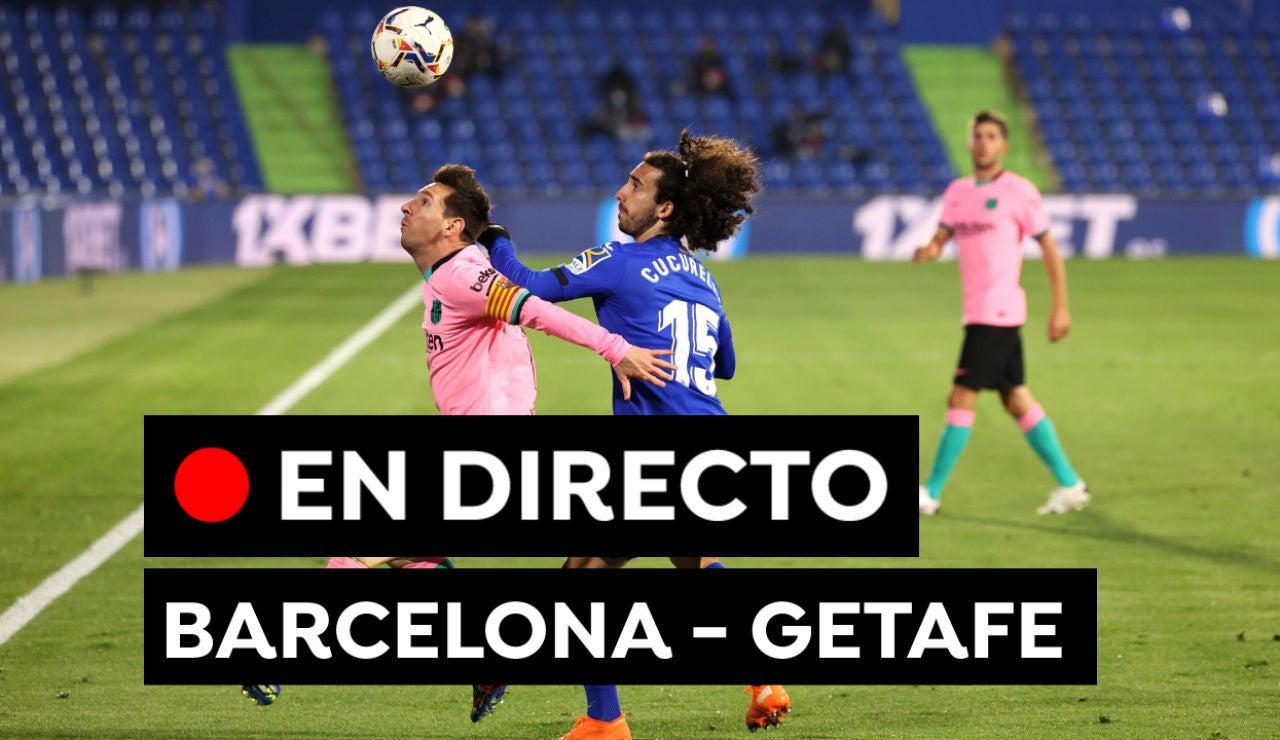 Barcelona - Getafe: Partido de fútbol de Liga Santander hoy, en directo