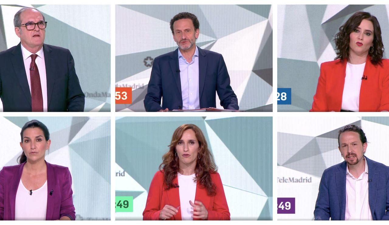 Los minutos de oro de los candidatos