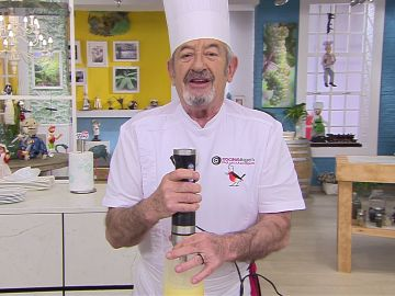 Karlos Arguiñano: cómo hacer masa de crepes en minuto y medio