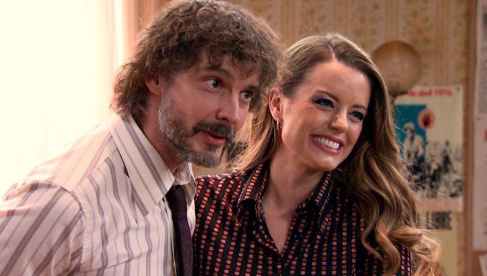 Guillermo y Lourdes en 'Amar es para siempre'