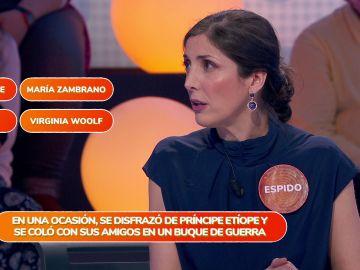 """""""¡Me van a echar de filología!"""", Espido Freire lamenta su fallo con Virginia Woolf"""