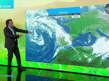 La previsión del tiempo hoy: Jornada de lluvias débiles antes de la llegada de la borrasca Lola