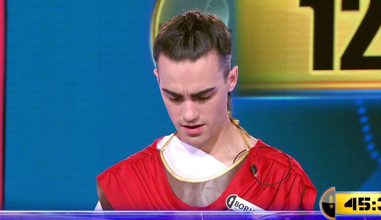 ¿Llegará su tercera victoria? Borja juega por 122.001 euros el Duelo Final de '¡Ahora caigo!'