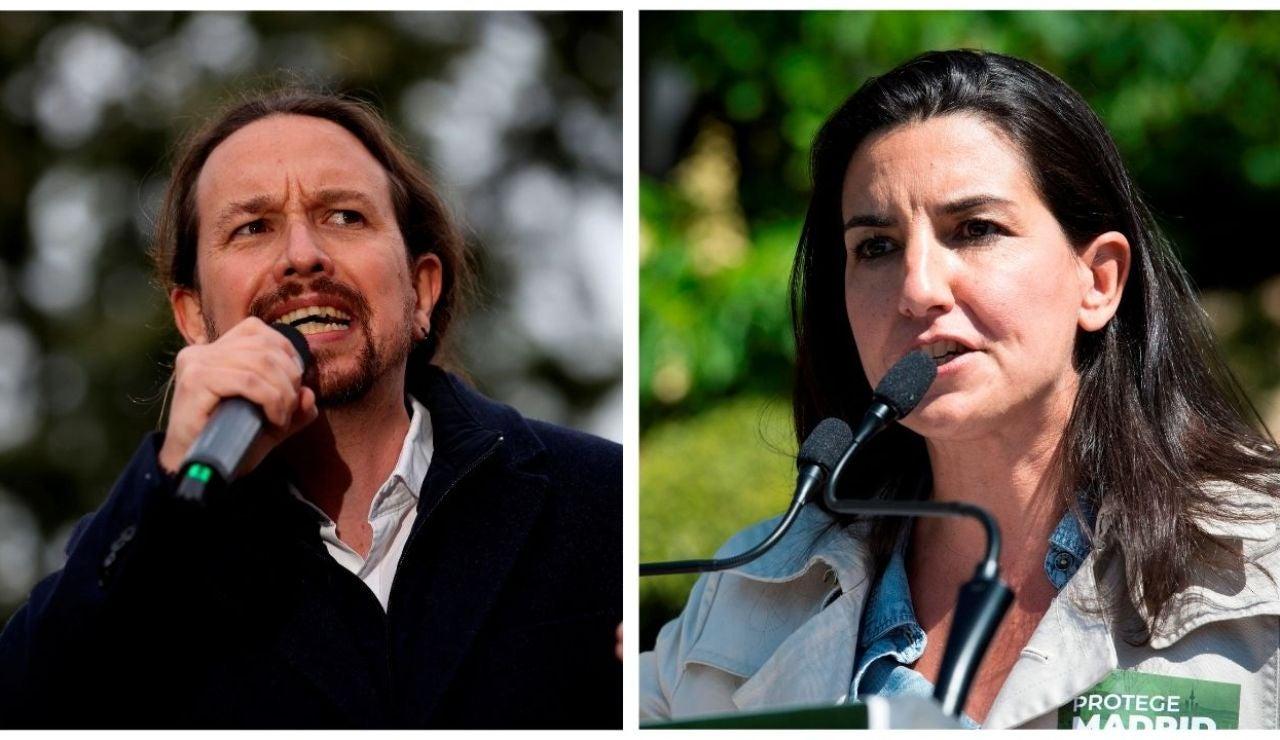 Pablo Iglesias y Rocío Monasterio