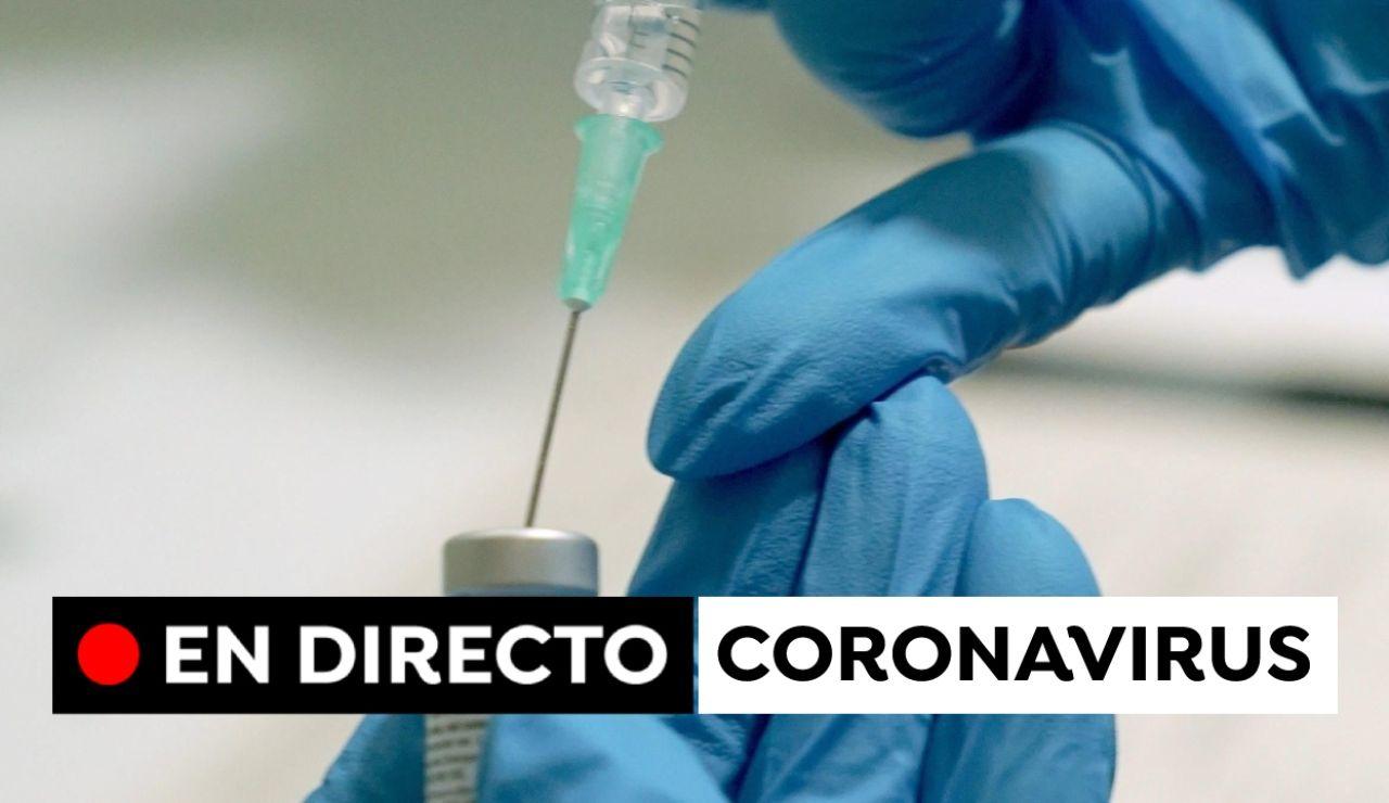 Restricciones por coronavirus en España y última hora de la vacuna contra el COVID-19, en directo