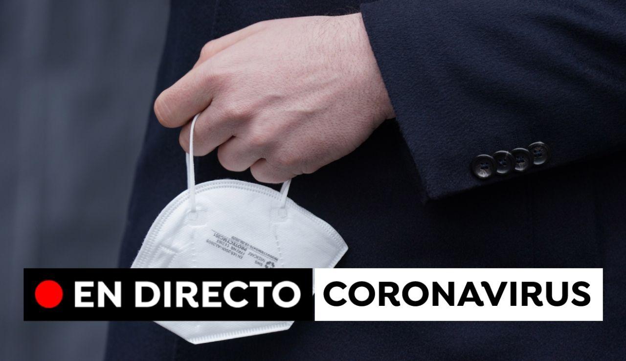 Última hora del coronavirus en España hoy