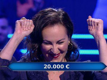Alejandro Sanz 'ayuda' a Ana Milán en '¿Quién quiere ser millonario?'