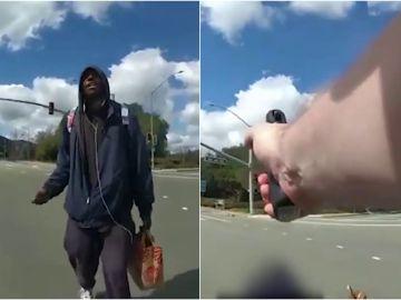 El vídeo de un policía matando a un afroamericano de un disparo en Estados Unidos