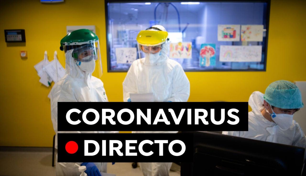 Coronavirus en España: Última hora de las restricciones, datos de contagios y muertos hoy, en directo