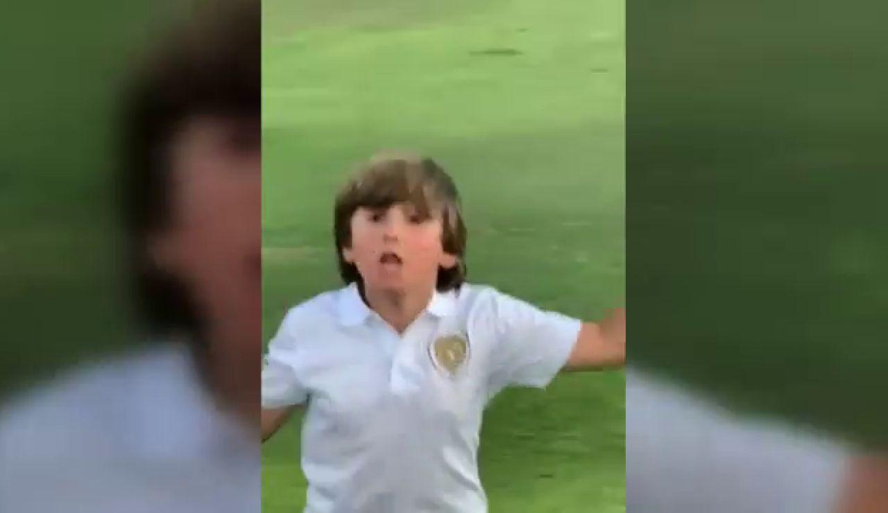 El espectacular hoyo en uno del nuevo niño prodigio del golf español