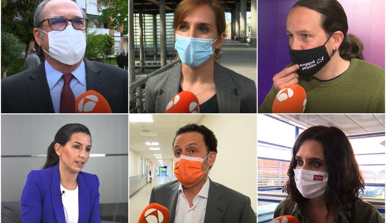 ¿Qué libros se recomiendan cada uno de los candidatos a las elecciones en Madrid?