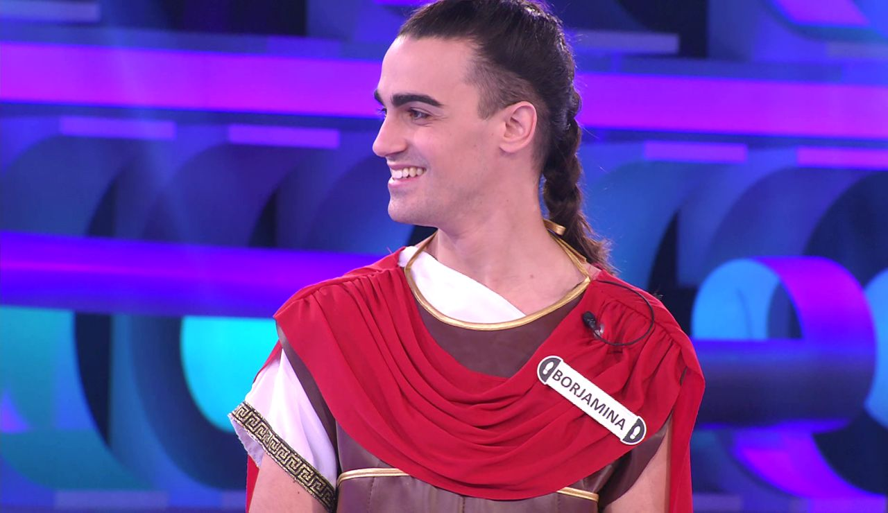 ¡Ave, Borja! Aparece disfrazado como un legionario romano en '¡Ahora caigo!'