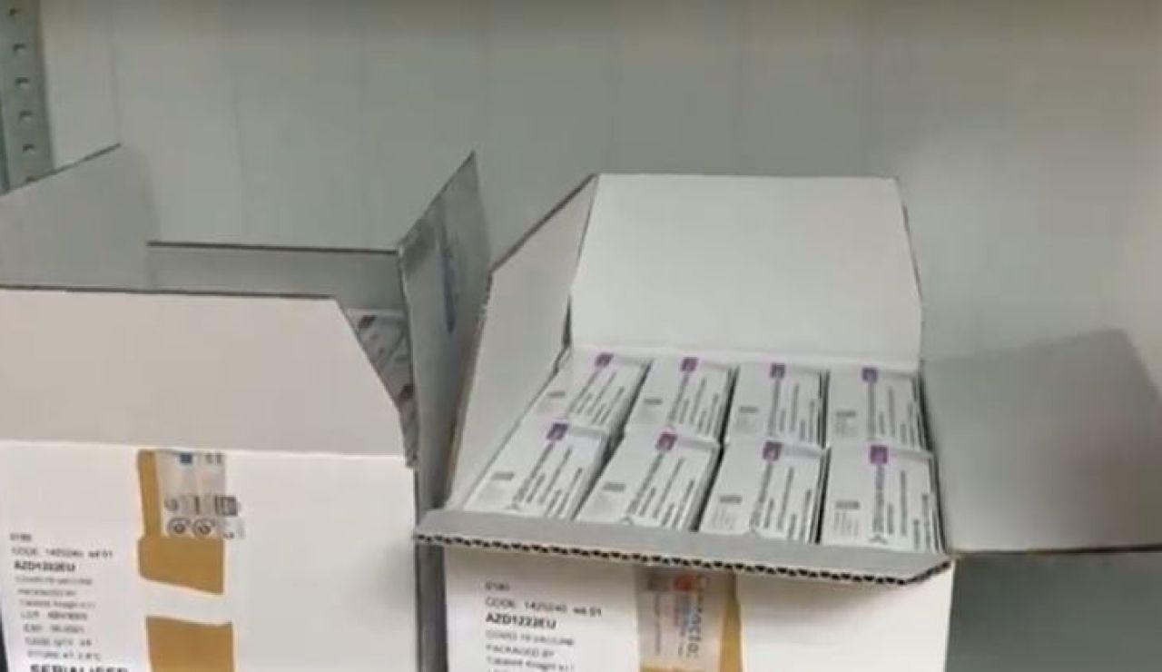 Envíos vacunas coronavirus