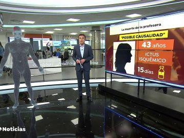 """La autopsia de la profesora fallecida revela """"posibles vínculos"""" con AstraZéneca"""