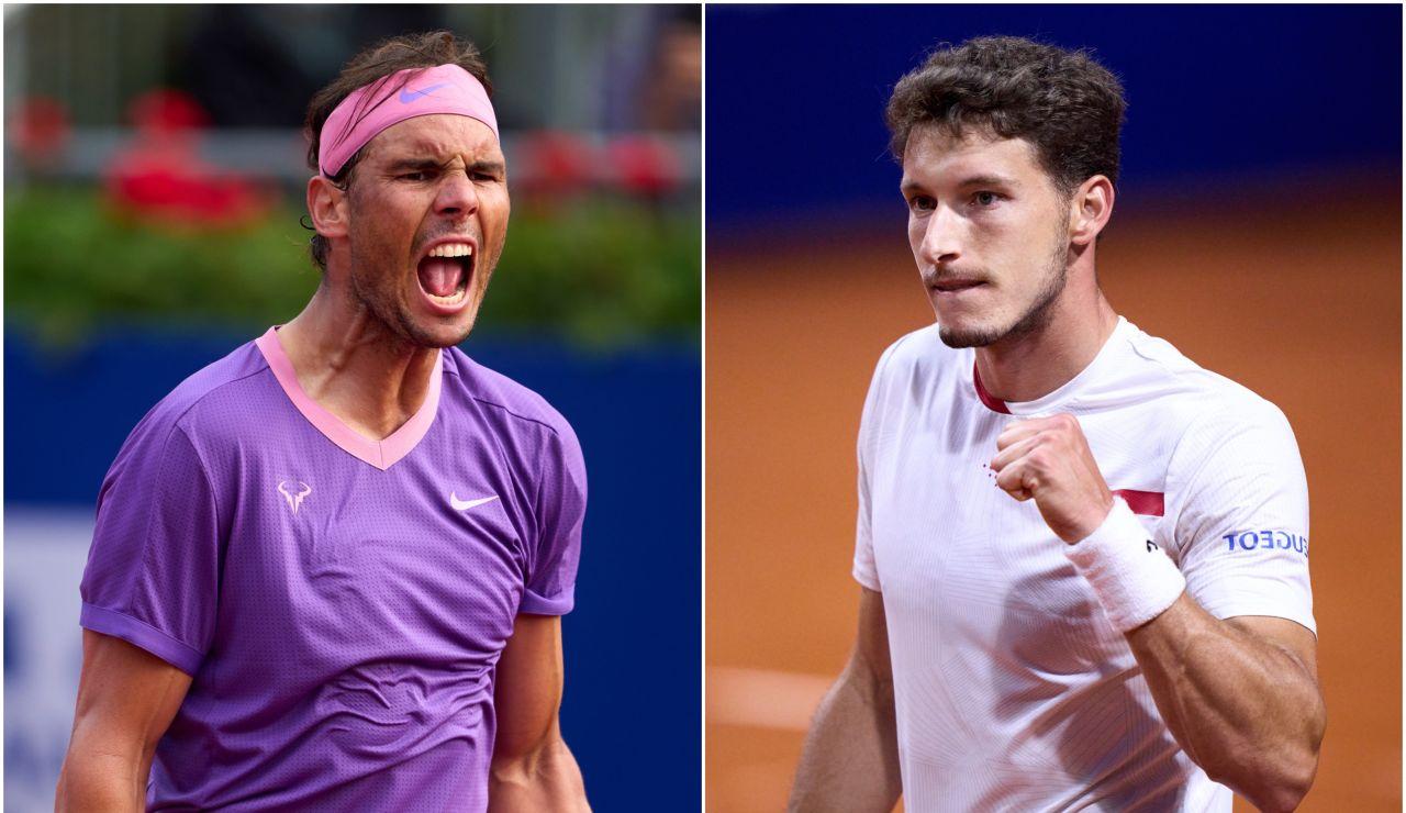 Rafa Nadal - Pablo Carreño: Horario y dónde ver el partido de hoy del Trofeo Conde de Godó en directo