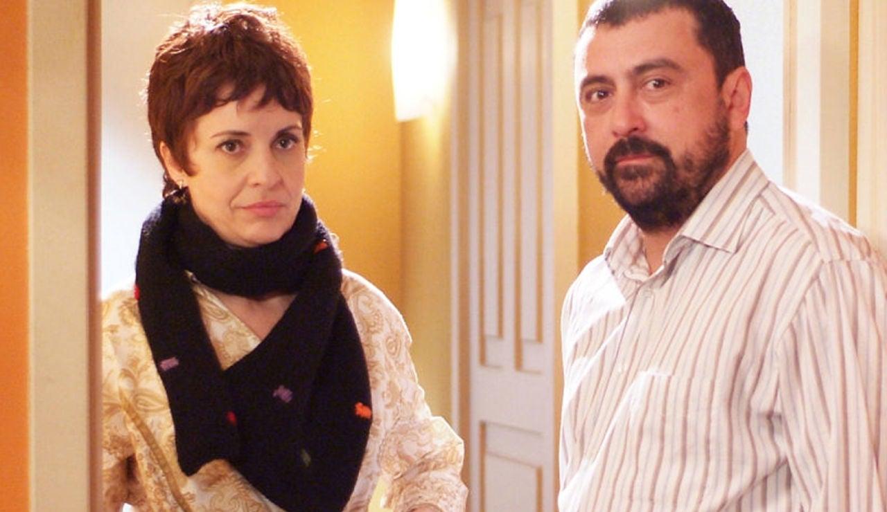 Lola y Paco en 'Los hombres de Paco'