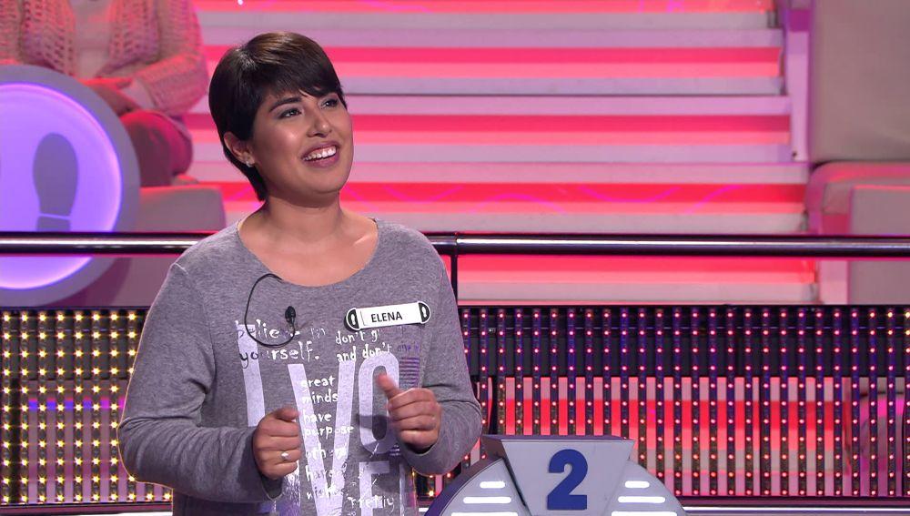 Una concursante dedica 'I will always love you' a su marido en '¡Ahora caigo!'
