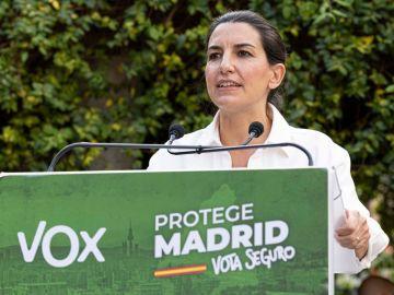 El programa electoral de VOX y Rocío Monasterio de cara a las elecciones en Madrid 2021