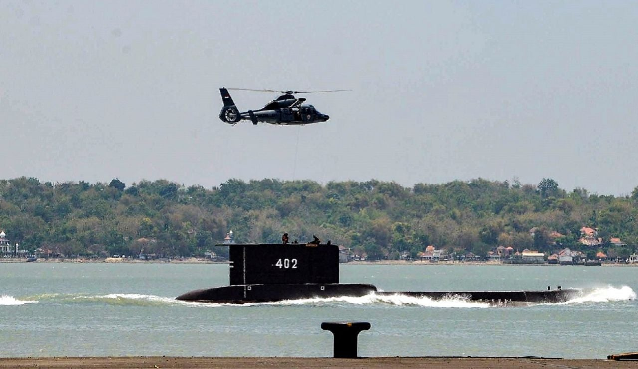 Submarino en Indonesia