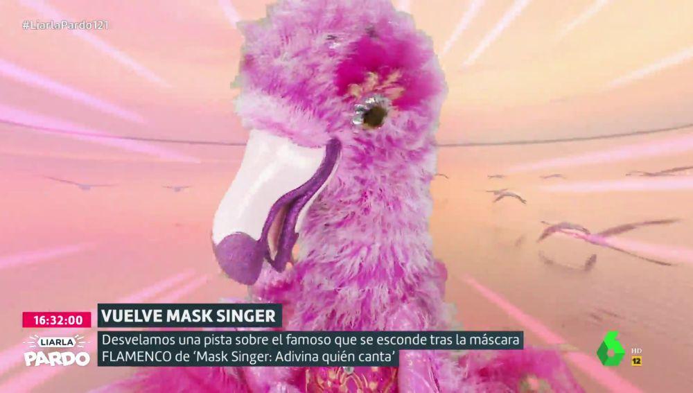 La primera pista de el Flamenco de 'Mask Singer':