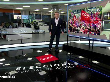 La recta final de la campaña de las elecciones de Madrid marca la agenda política de la semana