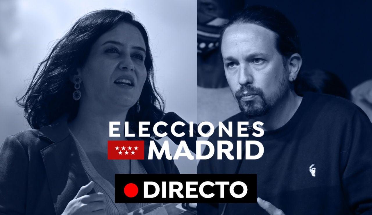 Elecciones Madrid 2021: Pablo Iglesias deja la política, Ayuso gana y reacciones, en directo