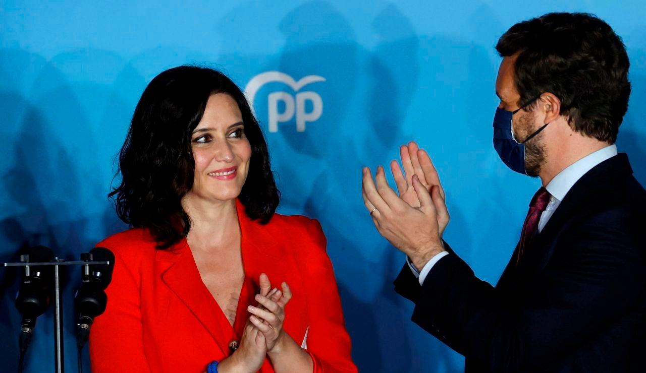 """Pedro Sánchez felicita a Isabel Díaz Ayuso: """"Las urnas le han otorgado un gran resultado y una gran responsabilidad"""""""