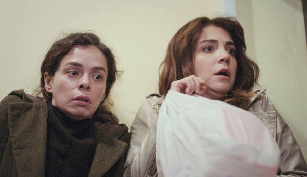 Bahar y Ceyda, víctimas de una redada por el negocio de Bersan en 'Mujer'