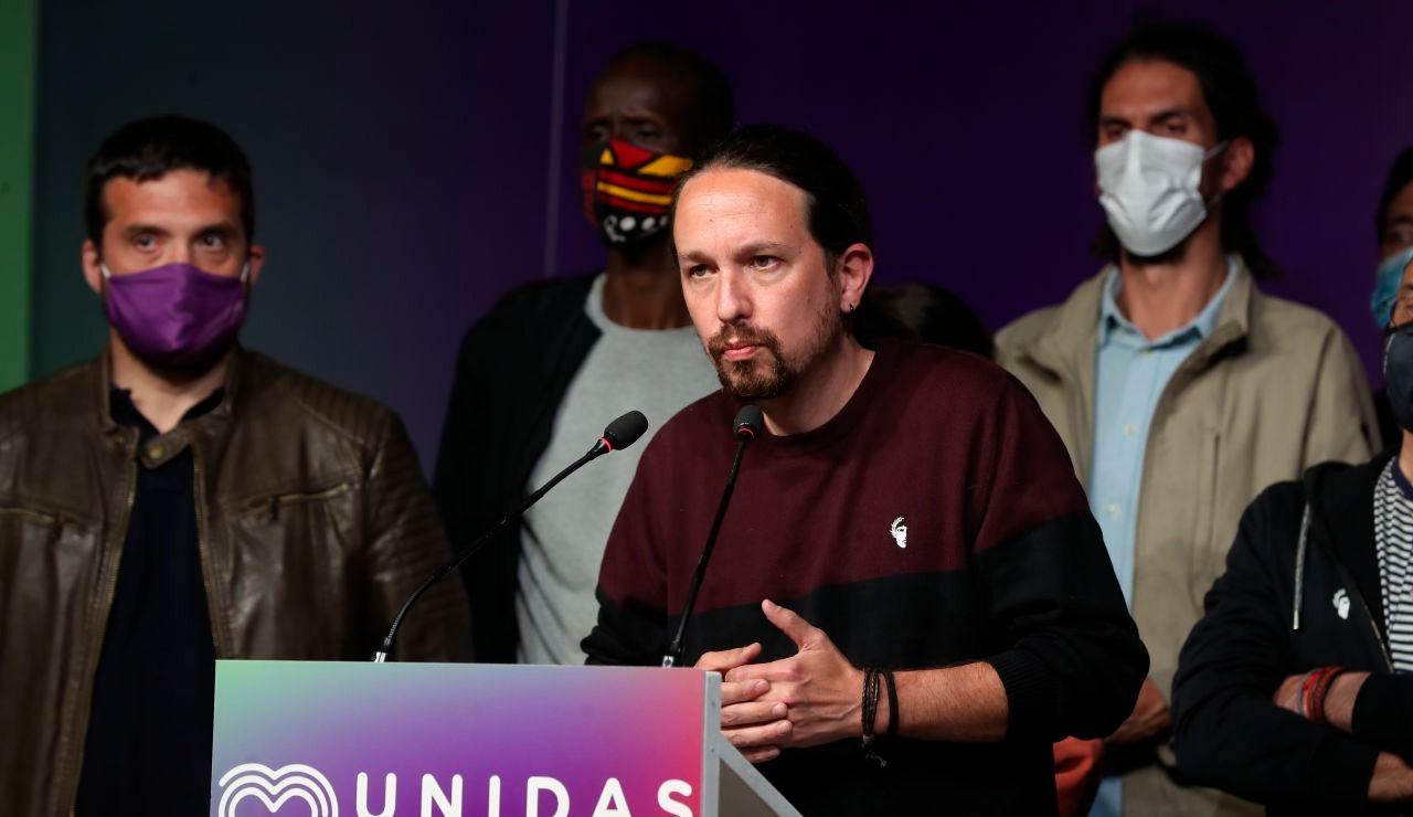 Pablo Iglesias, candidato Unidas Podemos
