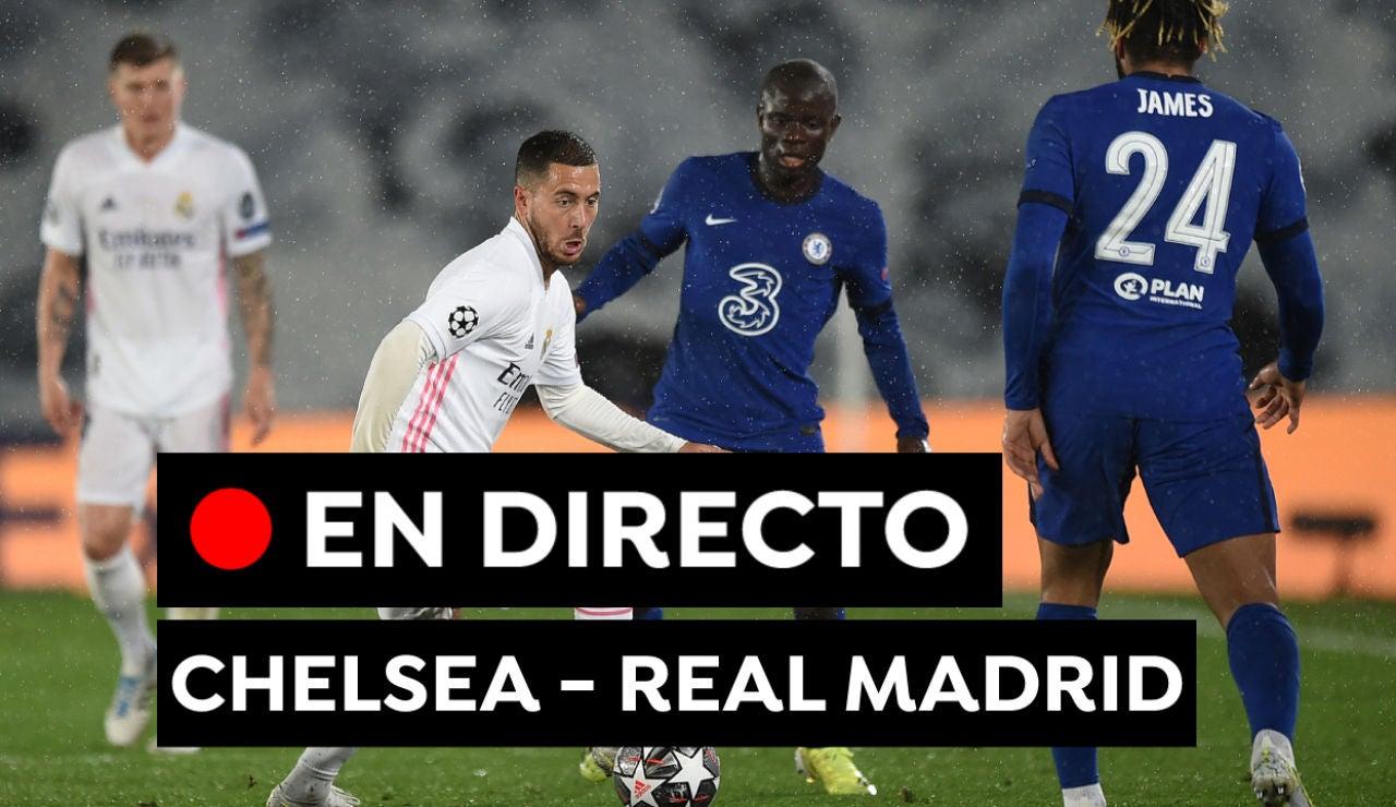 Chelsea - Real Madrid: Partido de fútbol de Champions League hoy, en directo