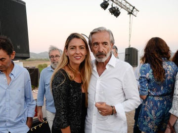 Irene Meritxell e Imanol Arias