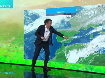 La previsión del tiempo hoy: Aumento de las temperaturas con chubascos débiles en el Cantábrico