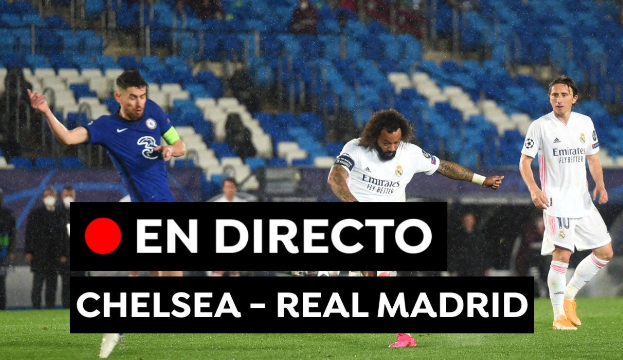 Chelsea - Real Madrid: Partido de Champions League hoy, en directo